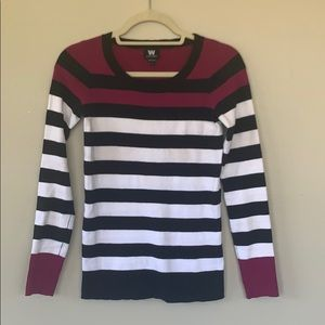 W by Worth Stripped Sweater